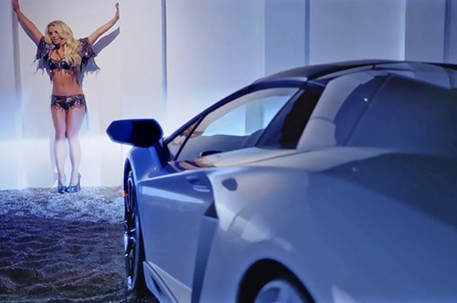 How A Lamborghini Became the Real Star of Britney Spears' Latest Music Video