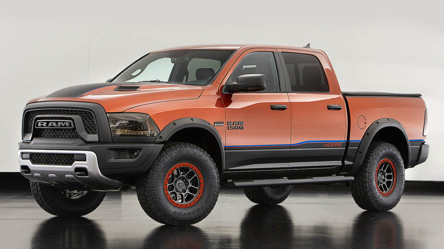 Ram Rebel X arrives at SEMA