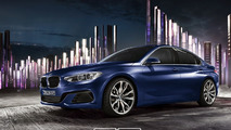 BMW 1-Series Sedan render