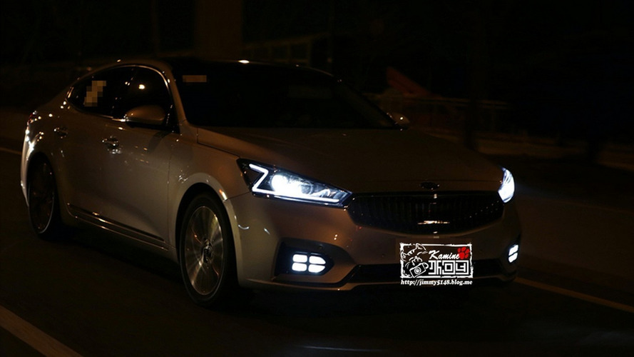 2016 Kia Cadenza spotted in the metal at night looking quite posh