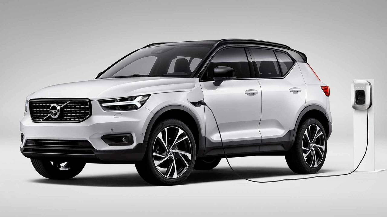 volvo xc40 t5 plug in hybrid photos. Black Bedroom Furniture Sets. Home Design Ideas