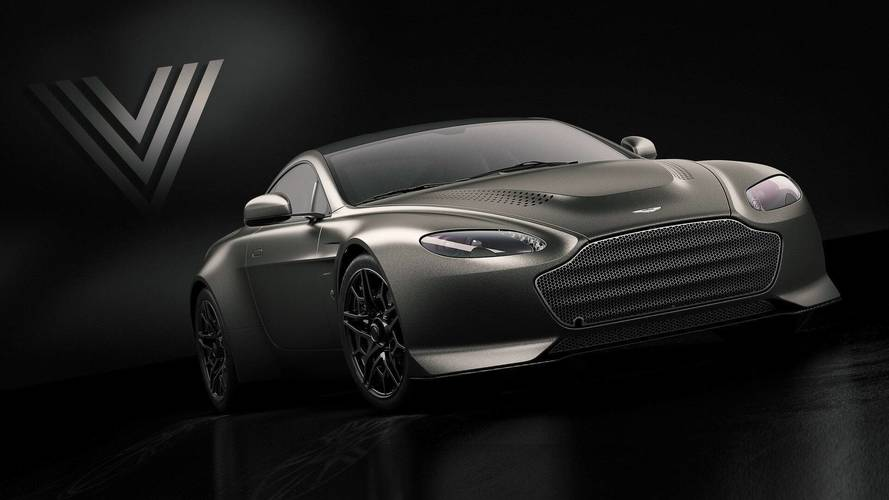 Aston Martin V12 Vantage V600 Combines 592 HP With Manual Gearbox