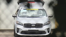 Kia Sorento Diesel Spy Photos