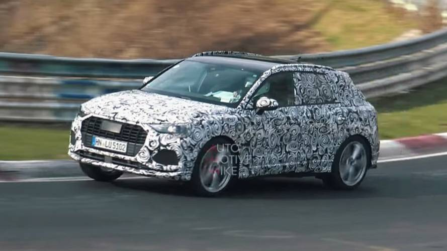 Audi SQ3 Prototype Sounds Angry On The Nürburgring