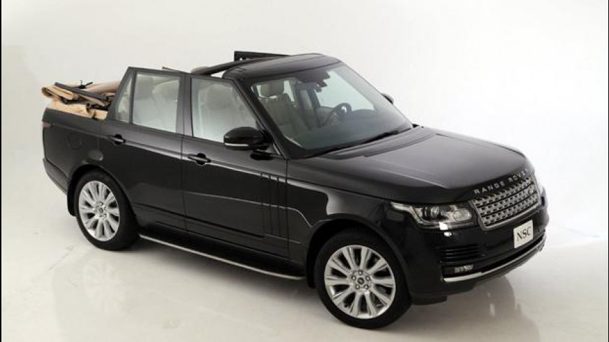 Range Rover Autobiography Convertible by Newport Convertible Engineering