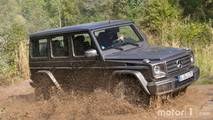 Mercedes-Benz G-Class Side By Side