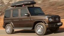 2018 Mercedes G-Class leaked official images