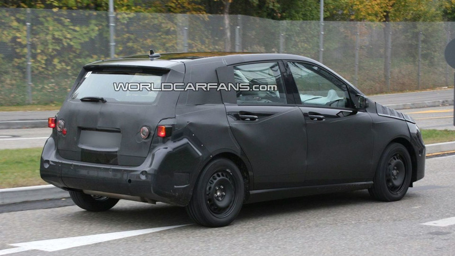 Next Generation 2012 Mercedes B-Class First Spy Photos