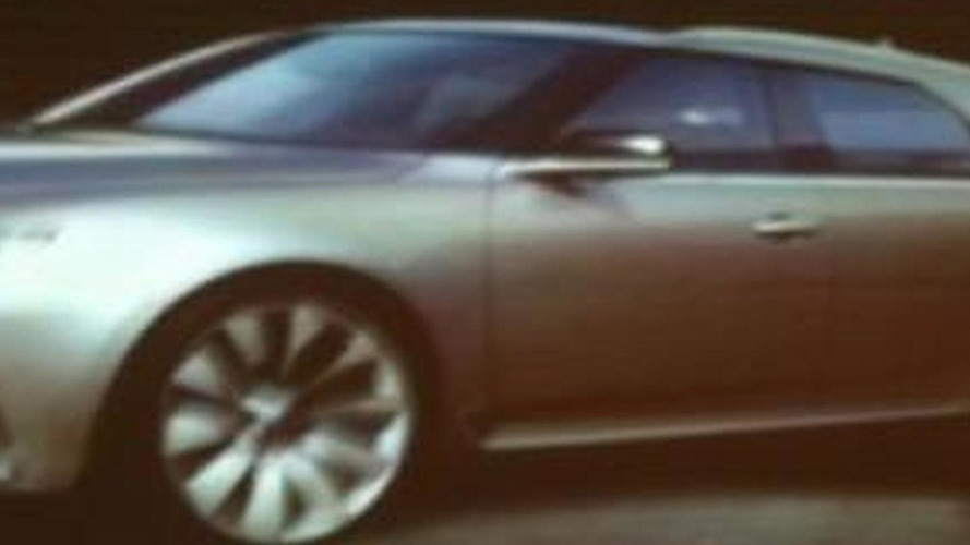 New 2012 Saab 9-5 wagon image leaked