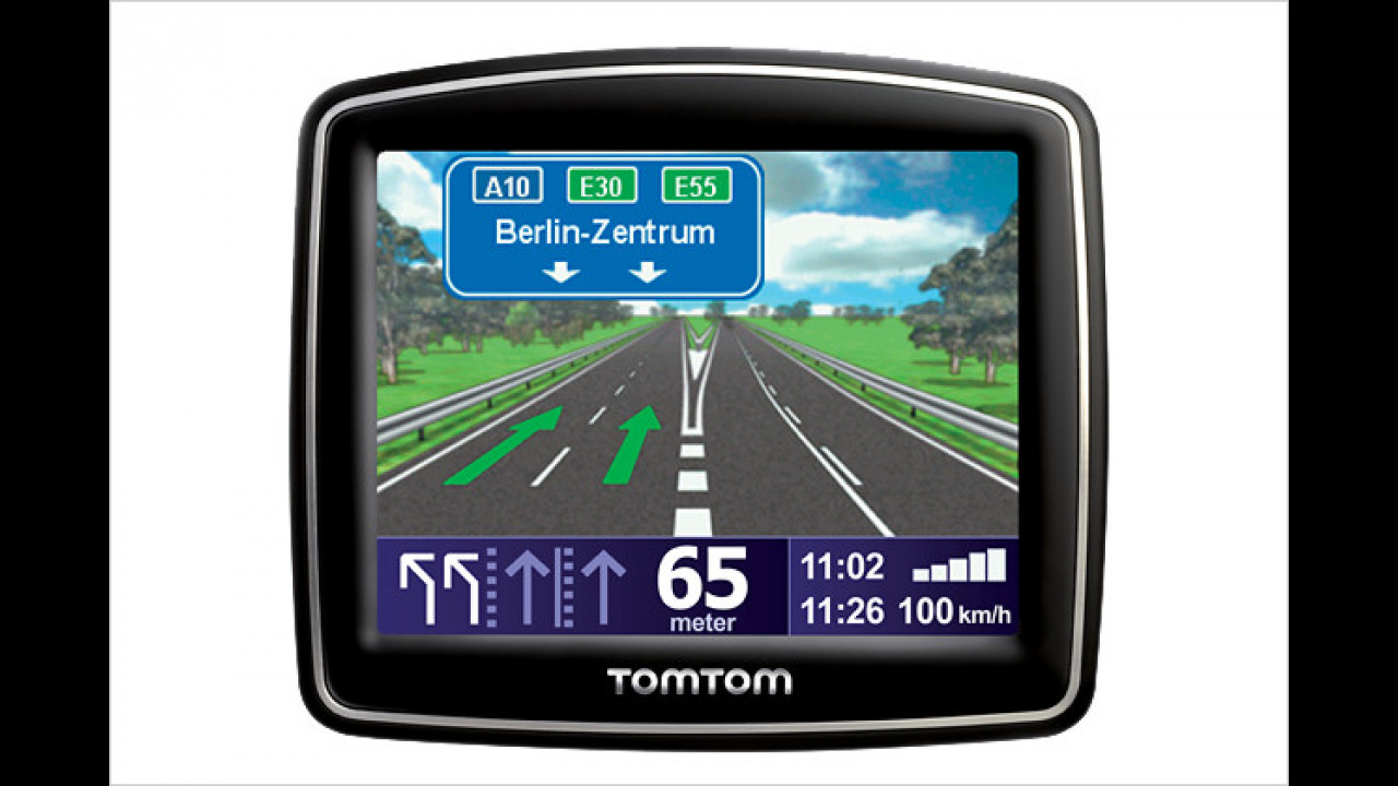 TomTom One IQ Routes