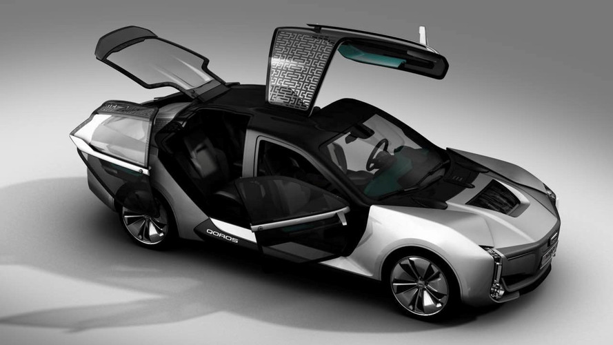 Qoros Model K-EV Concept Has See-Through Asymmetric Doors