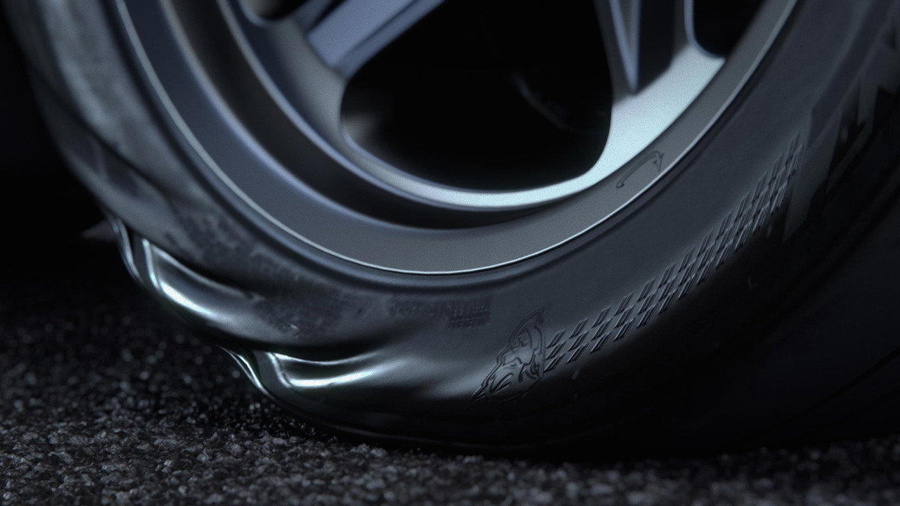 Dodge Challenger Demon Wheels Teaser