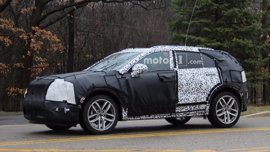 Cadillac XT4 Still Wearing Heavy Camo In New Spy Photos