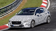 New Mercedes A-Class spy photos