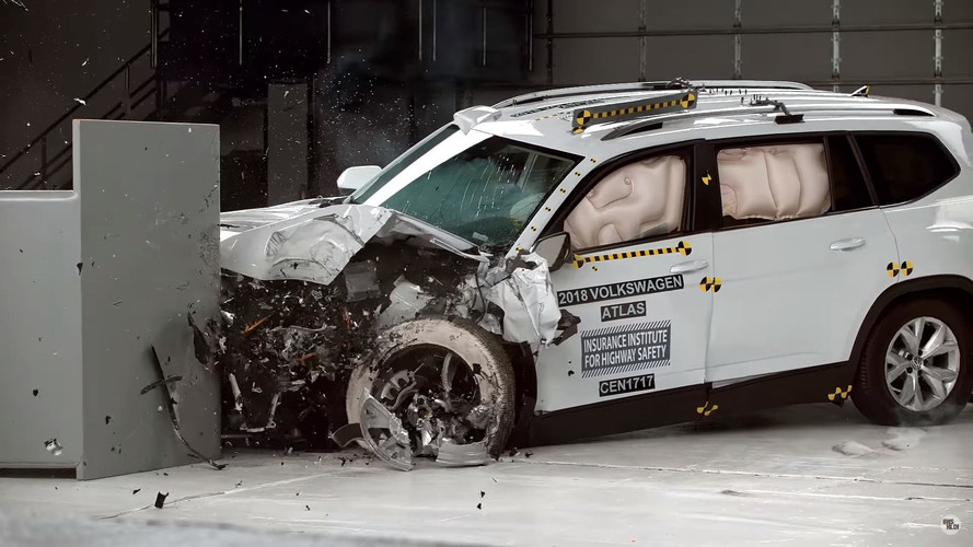 VW Atlas Misses Top Safety Pick+ Rating Because Of Its Headlights
