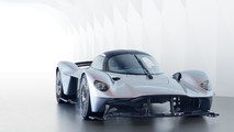 Aston Martin Valkyrie with near-production body