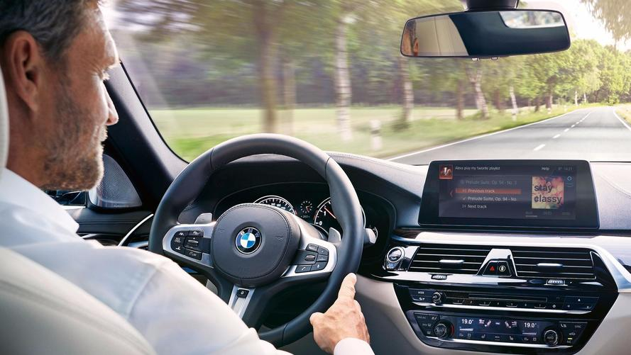 BMW will put Amazon Alexa in its new cars from 2018
