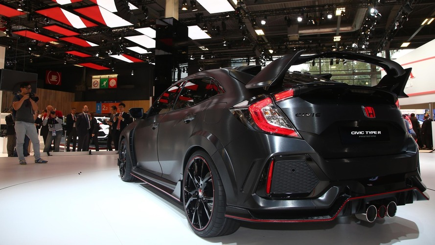Video: Honda Civic Type R prototipinin Paris ziyareti