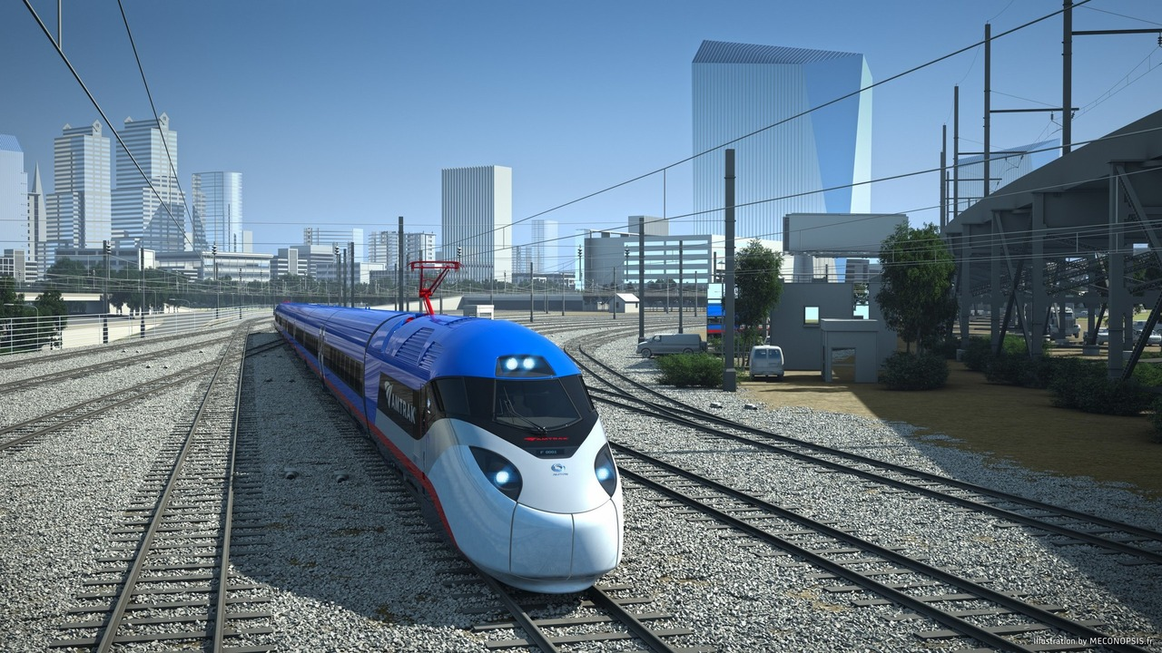 Next-gen Amtrak high-speed train