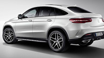 Mercedes-Benz GLE Coupe with Night Package