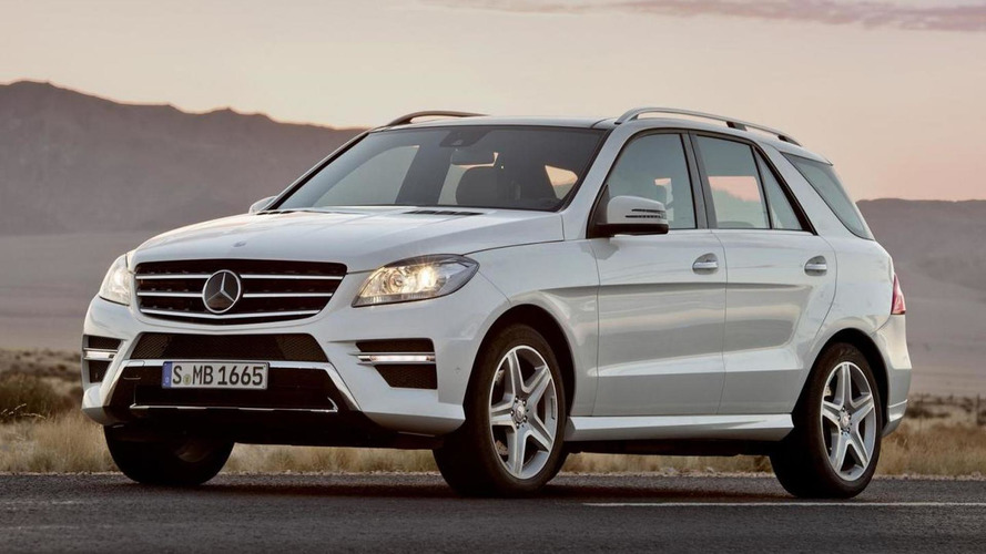 2015 Mercedes M-Class gains two new engines in the U.S.