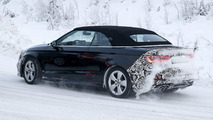 Audi A3 Cabrio facelift spied cold weather testing