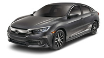 2016 Civic with Honda Genuine Accessories