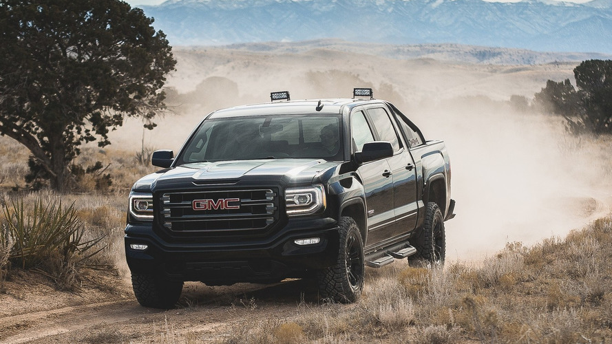 2016 GMC Sierra All Terrain X looks apocalyptic