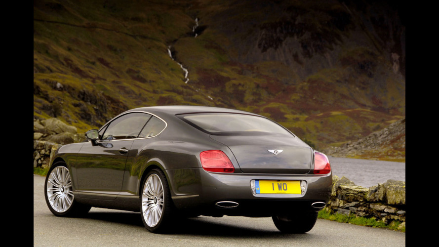 Bentley lancia Continental GT Speed
