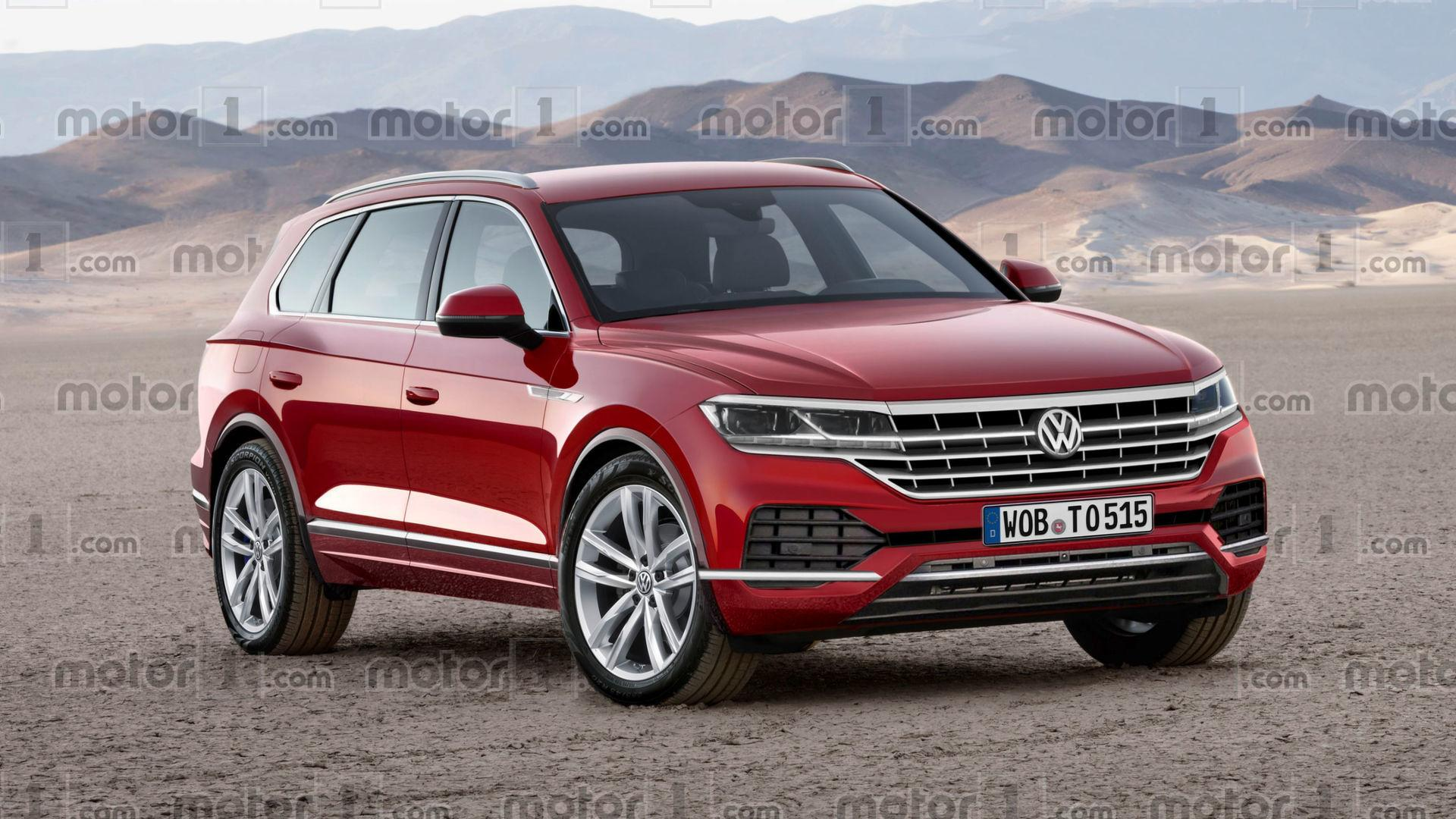Vw Scirocco Usa >> 2018 VW Touareg Will Probably Look A Lot Like This
