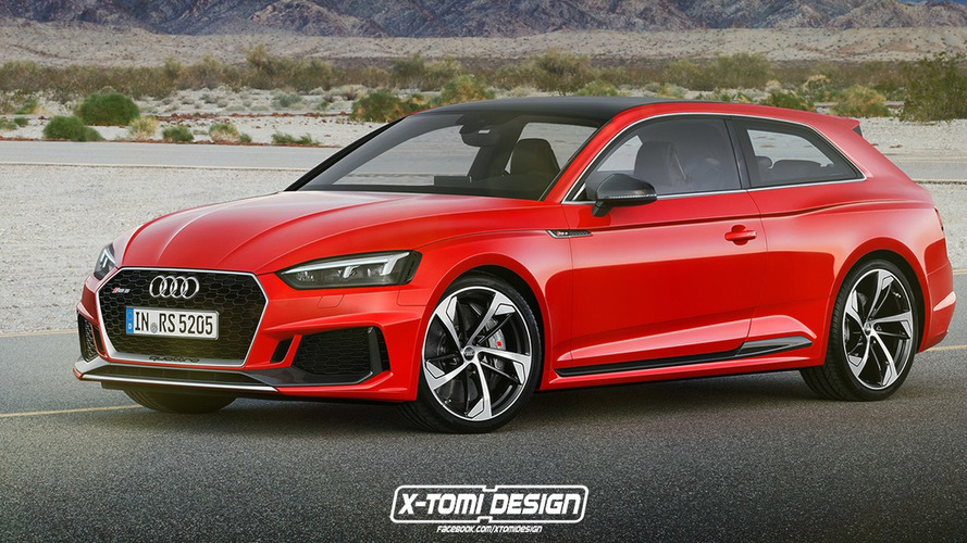 Audi RS5 Shooting Brake, Sportback, Cabriolet Rendered