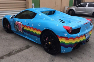 Deadmau5 is Selling His Nyan Cat Ferrari 458
