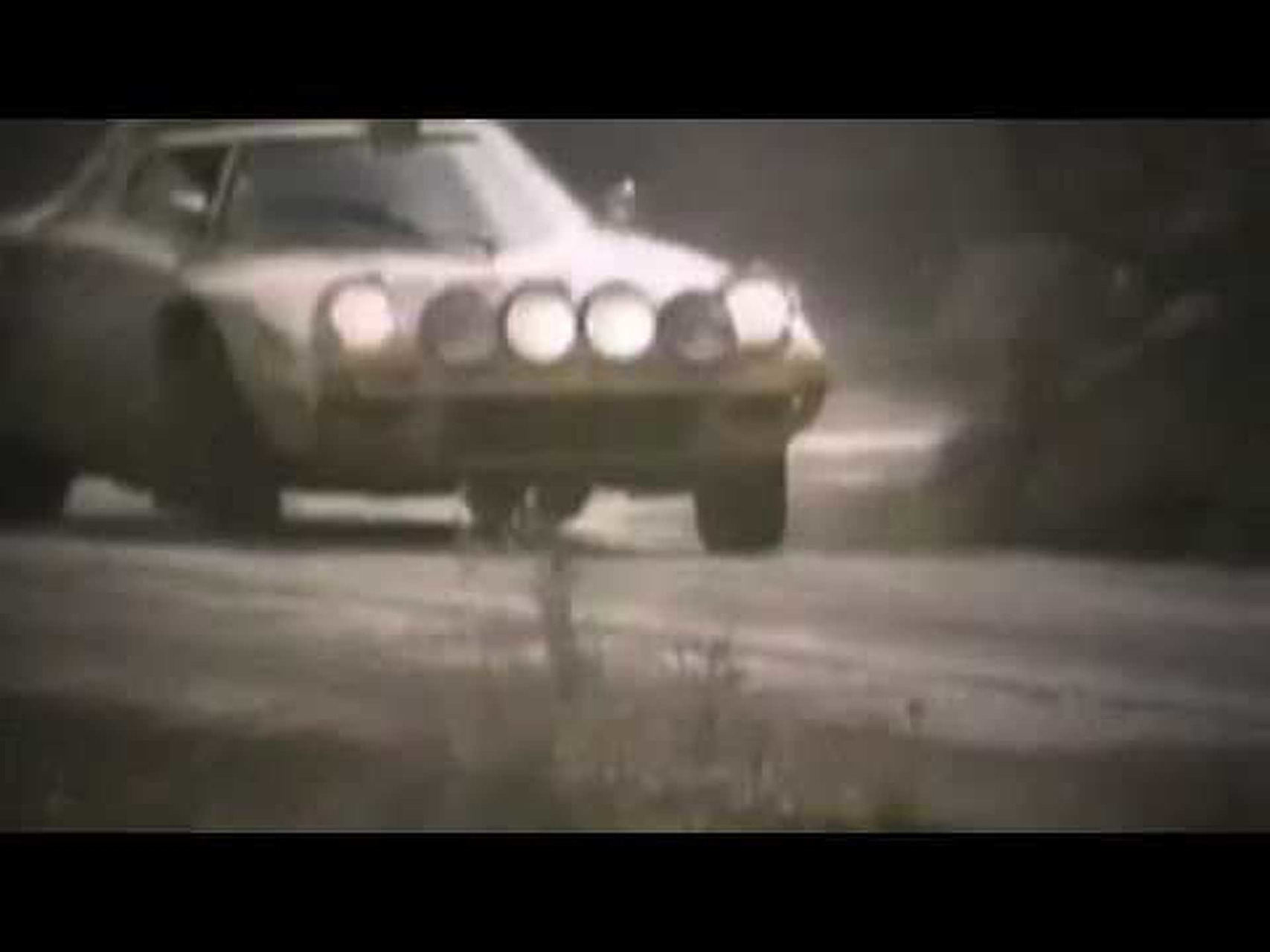 Lancia Stratos Rally Car