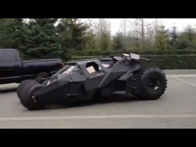 The Dark Knight Rises: Up Close and Personal with the Batmobile