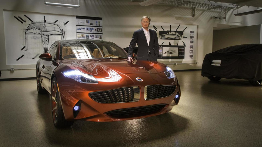 Henrik Fisker purchased a Karma after leaving the company