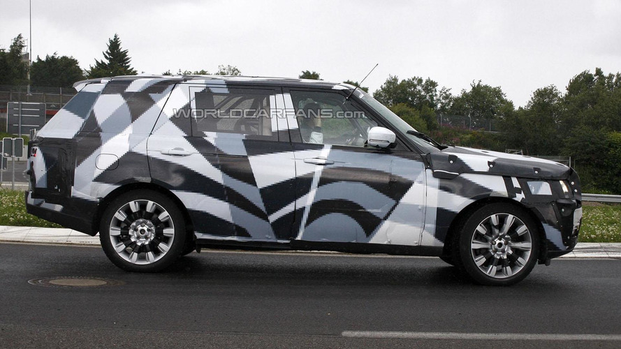 2013 Range Rover LWB spied