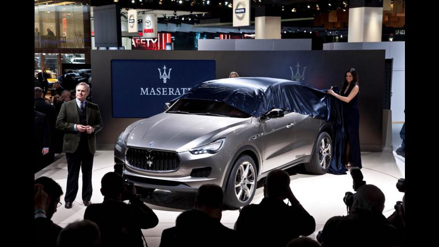 Maserati Kubang, anteprima americana