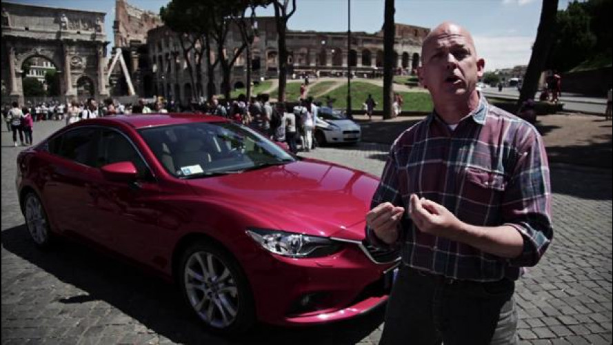 Mazda6, la prova di Matt con il 2.2 turbodiesel da 175 CV [VIDEO]
