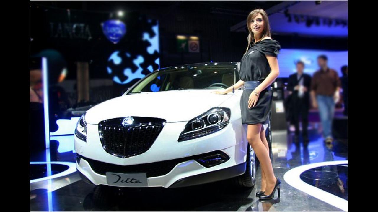 Auch bei Lancia finden sich überaus attraktive Mädels