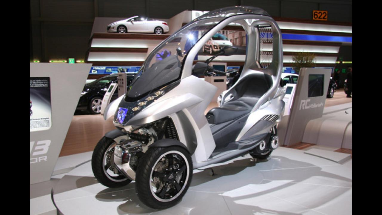 Peugeot HYbrid3 Compressor