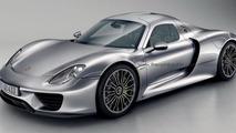 Porsche 918 Coupe rendering 17.9.2013