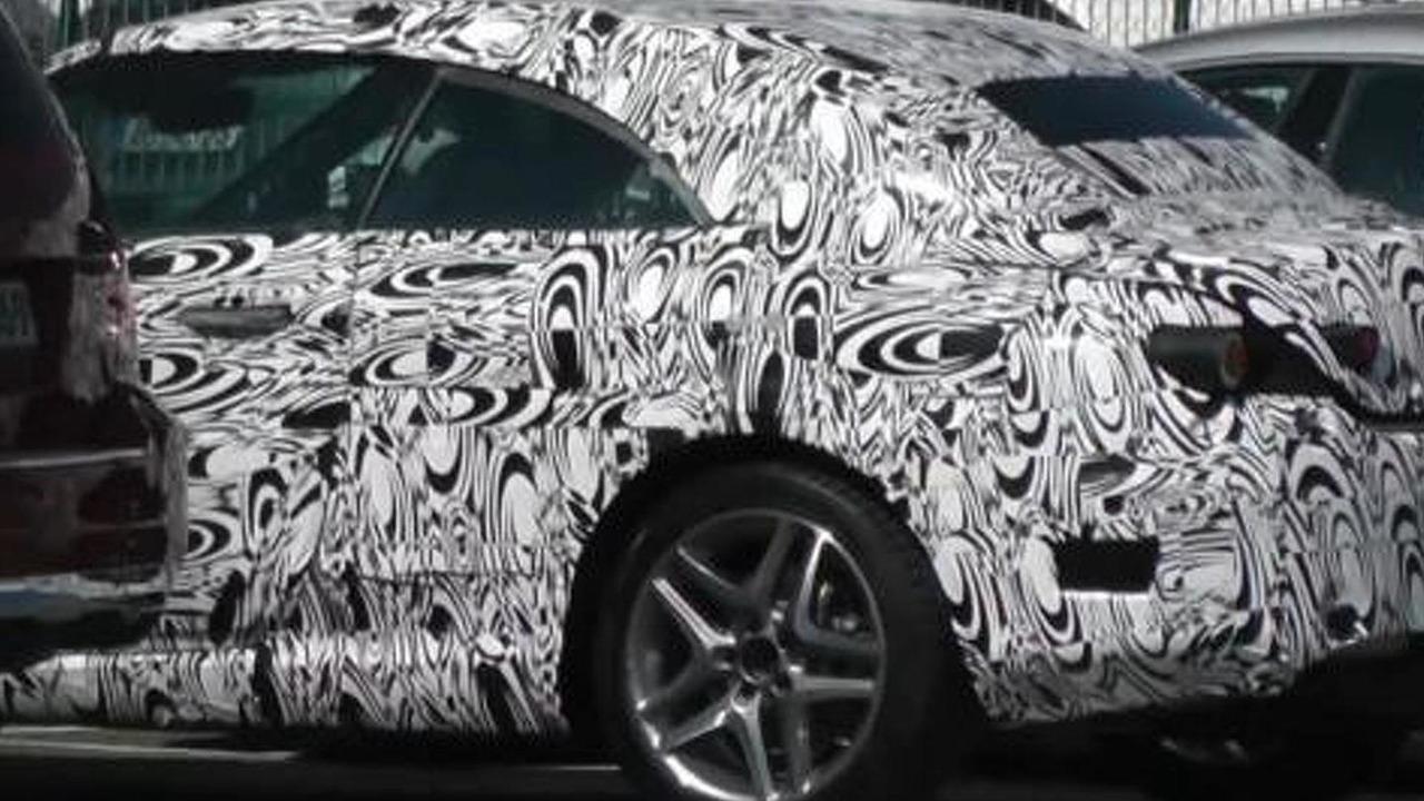 2016 Mercedes-Benz C-Class Cabriolet spy screenshot