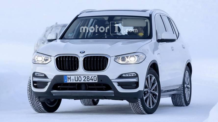 2019 BMW iX3 casus fotoğraflar