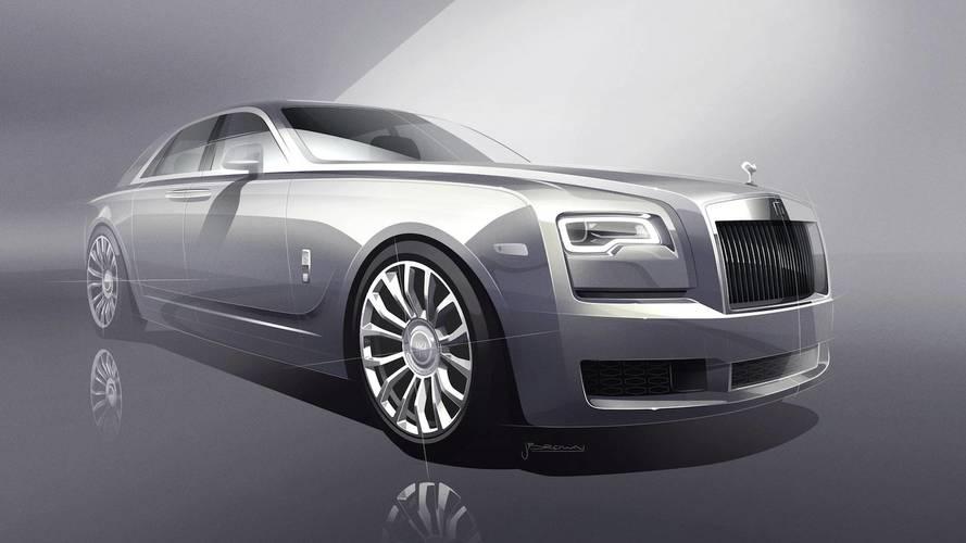 Rolls Royce présente la Silver Ghost Collection