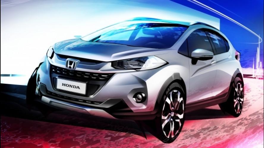 Honda WR-V, il SUV per il Brasile