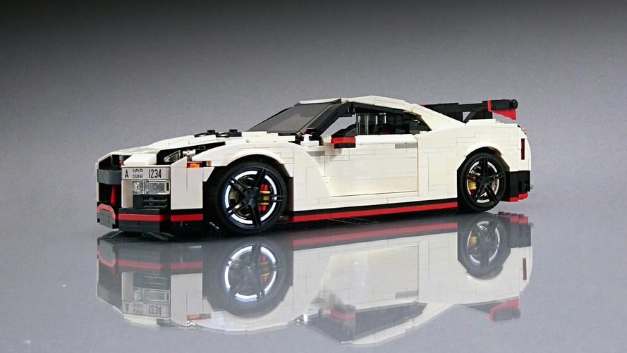 Her çocuğun hayali Lego'lardan yapılma Nissan GT-R Nismo