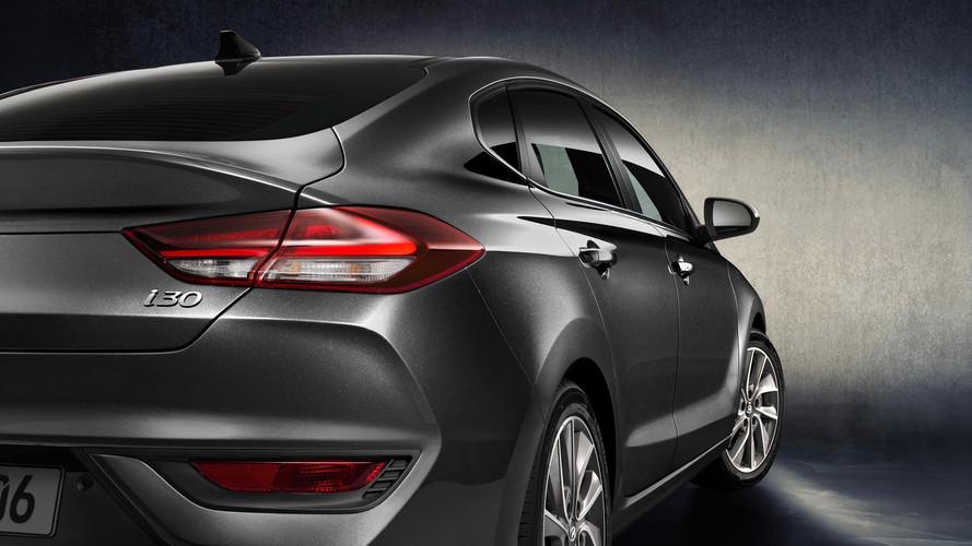 Sporty Hyundai i30 Fastback Revealed