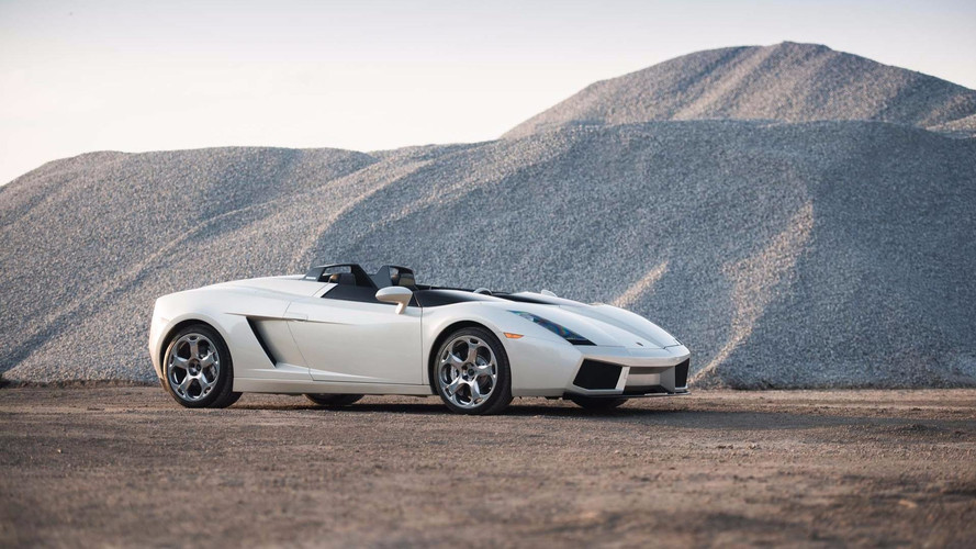 One And Only 2006 Lamborghini Concept S Heading To Auction