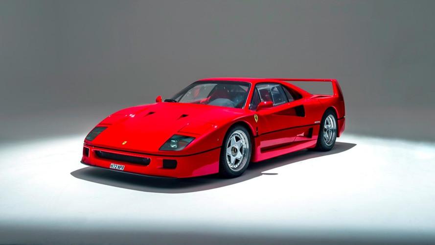 Enchères - Une Ferrari F40 en vente chez Silverstone Auctions