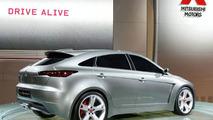 Mitsubishi Concept-Sportback World Debut